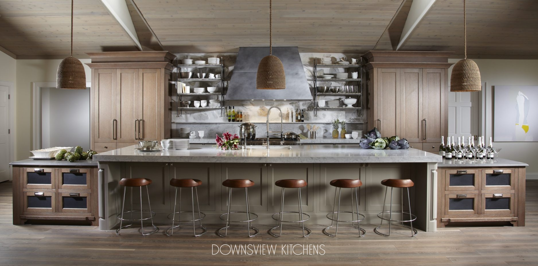 A GATHERING PLACE - Downsview Kitchens and Fine Custom Cabinetry ...