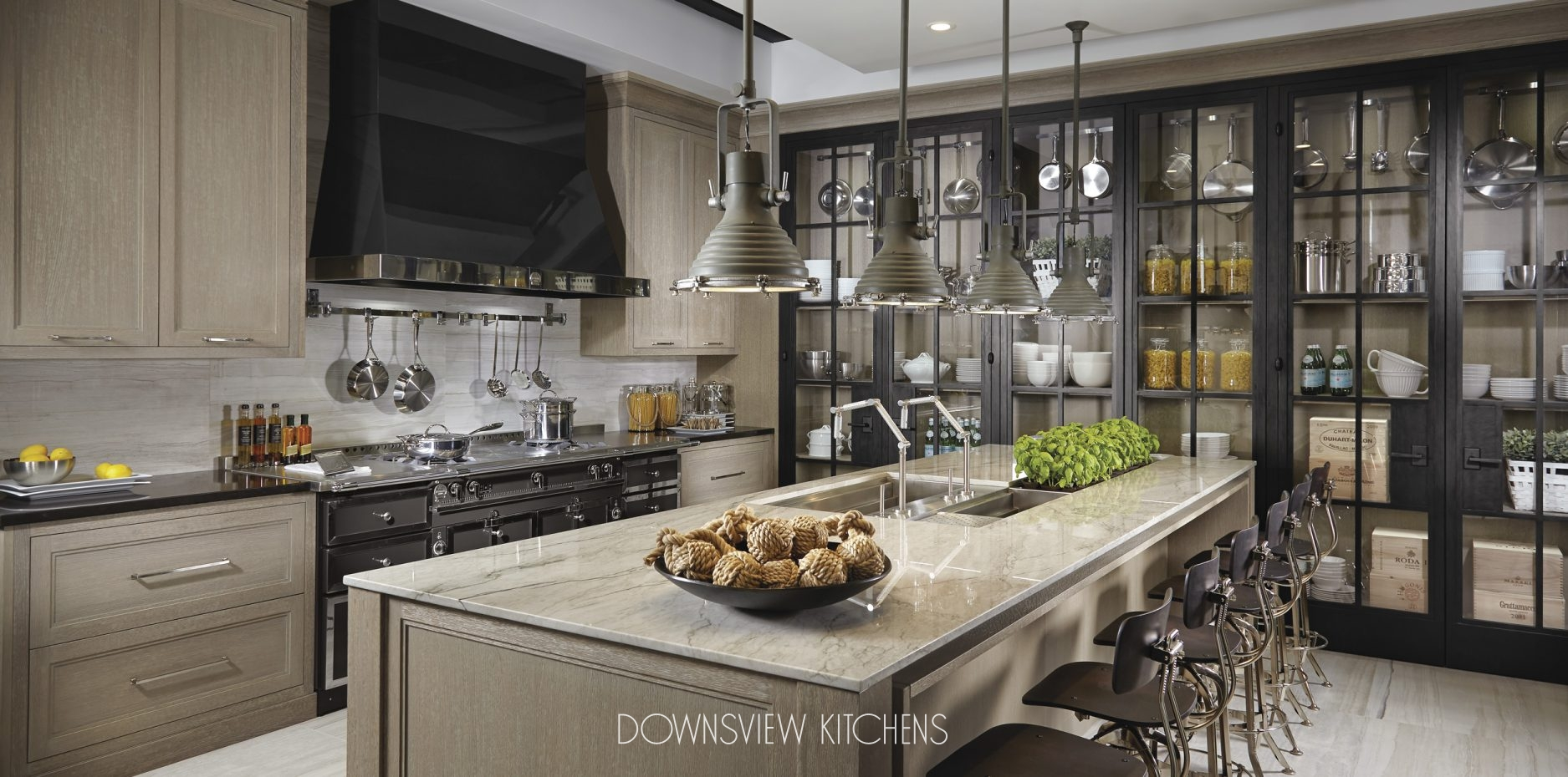 INDUSTRIAL CHIC - Downsview Kitchens and Fine Custom