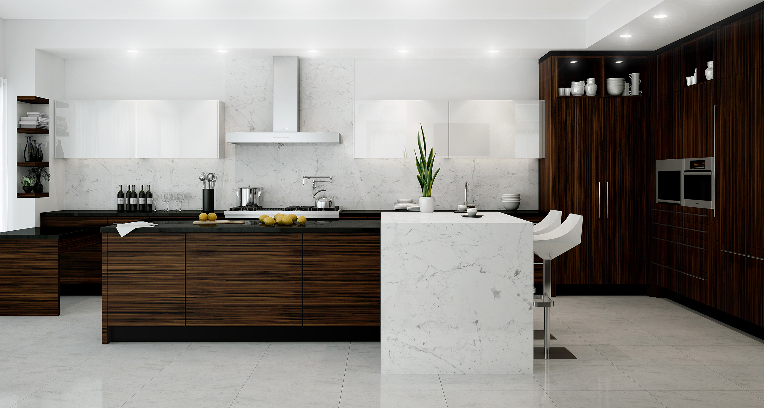 Sleek By Nature Downsview Kitchens And Fine Custom